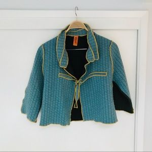 ANYA Quilted Patchwork Jacket, Handmade in SF